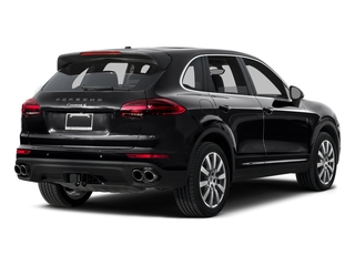Black 2015 Porsche Cayenne Pictures Cayenne Utility 4D AWD V6 T-Diesel photos rear view