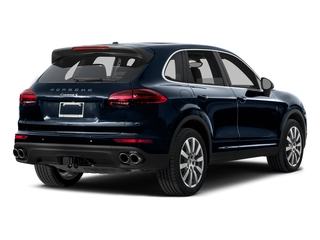 Moonlight Blue Metallic 2015 Porsche Cayenne Pictures Cayenne Utility 4D AWD V6 T-Diesel photos rear view
