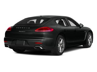 Jet Black Metallic 2015 Porsche Panamera Pictures Panamera Hatchback 4D S Exec AWD V8 Turbo photos rear view
