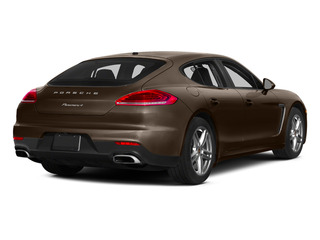 Chestnut Brown Metallic 2015 Porsche Panamera Pictures Panamera Hatchback 4D S Exec AWD V8 Turbo photos rear view