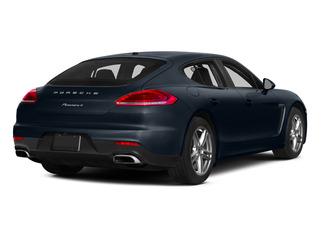 Yachting Blue Metallic 2015 Porsche Panamera Pictures Panamera Hatchback 4D S Exec AWD V8 Turbo photos rear view