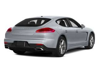 Rhodium Silver Metallic 2015 Porsche Panamera Pictures Panamera Hatchback 4D S Exec AWD V8 Turbo photos rear view