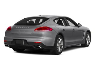 GT Silver Metallic 2015 Porsche Panamera Pictures Panamera Hatchback 4D S Exec AWD V8 Turbo photos rear view