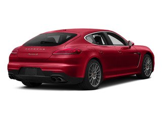 Carmine Red 2015 Porsche Panamera Pictures Panamera Hatchback 4D S e-Hybrid V6 photos rear view