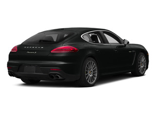 Jet Black Metallic 2015 Porsche Panamera Pictures Panamera Hatchback 4D S e-Hybrid V6 photos rear view