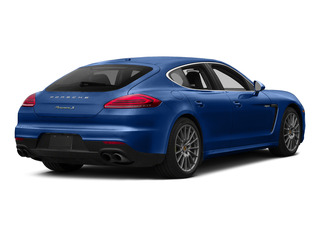 Sapphire Blue Metallic 2015 Porsche Panamera Pictures Panamera Hatchback 4D S e-Hybrid V6 photos rear view