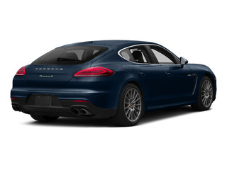 Dark Blue Metallic 2015 Porsche Panamera Pictures Panamera Hatchback 4D S e-Hybrid V6 photos rear view