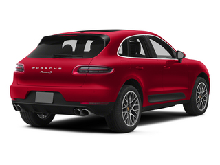 Impulse Red Metallic 2015 Porsche Macan Pictures Macan Utility 4D AWD V6 Turbo photos rear view