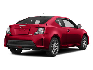 Absolutely Red 2015 Scion tC Pictures tC Liftback 3D I4 photos rear view