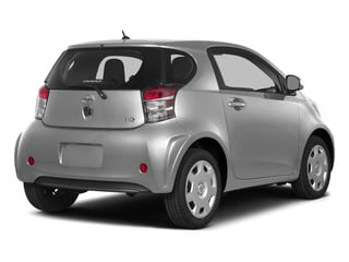 Classic Silver Metallic 2015 Scion iQ Pictures iQ Hatchback 3D I4 photos rear view