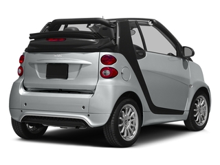 Silver Metallic 2015 smart fortwo Pictures fortwo Convertible 2D Passion I3 photos rear view
