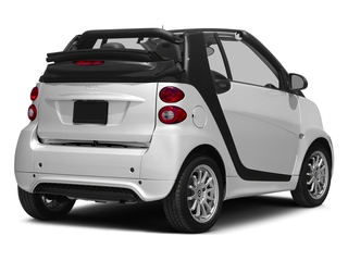 Crystal White 2015 smart fortwo Pictures fortwo Convertible 2D Passion I3 photos rear view