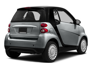 Silver Metallic 2015 smart fortwo Pictures fortwo Coupe 2D Pure I3 photos rear view