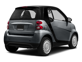 Gray Matte 2015 smart fortwo Pictures fortwo Coupe 2D Pure I3 photos rear view
