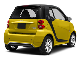 Clear Flame Yellow 2015 smart fortwo electric drive Pictures fortwo electric drive Coupe 2D Electric photos rear view