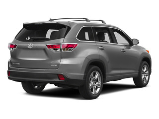 Silver Sky Metallic 2015 Toyota Highlander Pictures Highlander Utility 4D LE 2WD I4 photos rear view