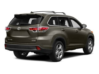 Predawn Gray Mica 2015 Toyota Highlander Pictures Highlander Utility 4D Limited 2WD V6 photos rear view