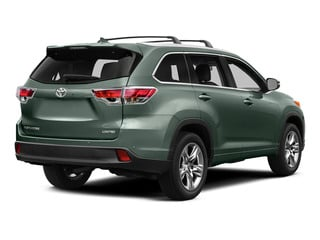 Alumina Jade Metallic 2015 Toyota Highlander Pictures Highlander Utility 4D LE 2WD I4 photos rear view
