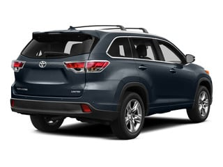 Shoreline Blue Pearl 2015 Toyota Highlander Pictures Highlander Utility 4D LE 2WD I4 photos rear view