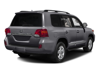 Magnetic Gray Metallic 2015 Toyota Land Cruiser Pictures Land Cruiser Utility 4D 4WD V8 photos rear view