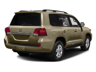 Sonora Gold Pearl 2015 Toyota Land Cruiser Pictures Land Cruiser Utility 4D 4WD V8 photos rear view