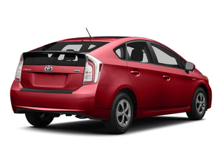 Barcelona Red Metallic 2015 Toyota Prius Pictures Prius Liftback 5D Five I4 Hybrid photos rear view