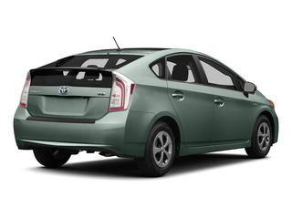 Sea Glass Pearl 2015 Toyota Prius Pictures Prius Liftback 5D Five I4 Hybrid photos rear view