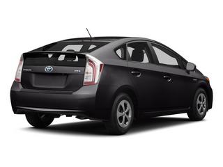 Winter Gray Metallic 2015 Toyota Prius Pictures Prius Liftback 5D Five I4 Hybrid photos rear view