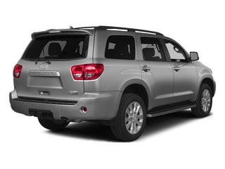 Silver Sky Metallic 2015 Toyota Sequoia Pictures Sequoia Utility 4D Limited 2WD V8 photos rear view