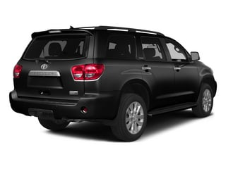 Black 2015 Toyota Sequoia Pictures Sequoia Utility 4D Limited 2WD V8 photos rear view