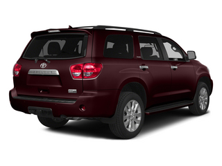 Sizzling Crimson Mica 2015 Toyota Sequoia Pictures Sequoia Utility 4D Limited 2WD V8 photos rear view
