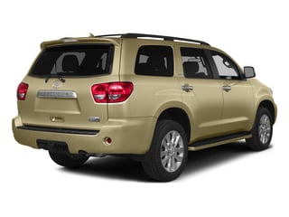 Sandy Beach Metallic 2015 Toyota Sequoia Pictures Sequoia Utility 4D Limited 2WD V8 photos rear view