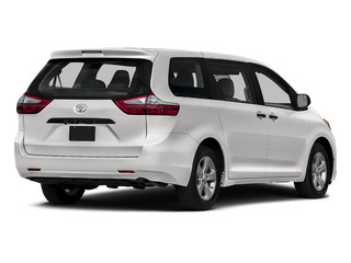 Super White 2015 Toyota Sienna Pictures Sienna Wagon 5D LE V6 photos rear view