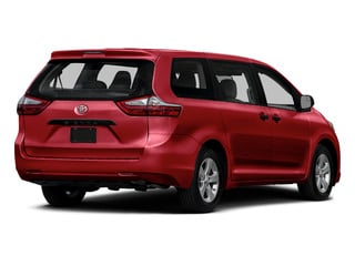 Salsa Red Pearl 2015 Toyota Sienna Pictures Sienna Wagon 5D LE V6 photos rear view