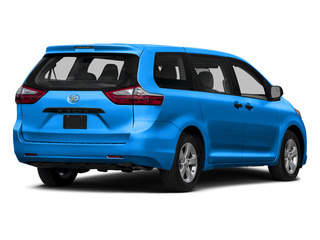 Sky Blue Pearl 2015 Toyota Sienna Pictures Sienna Wagon 5D LE V6 photos rear view