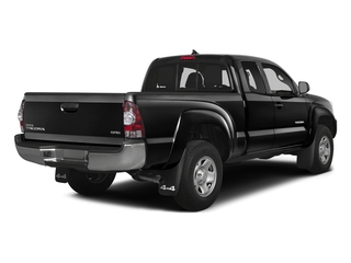 Black 2015 Toyota Tacoma Pictures Tacoma Base Access Cab 4WD V6 photos rear view