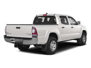 Super White 2015 Toyota Tacoma Pictures Tacoma PreRunner 2WD I4 photos rear view