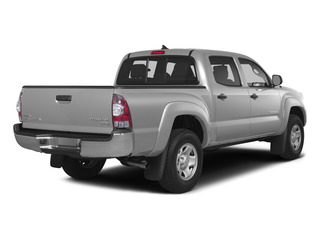 Silver Sky Metallic 2015 Toyota Tacoma Pictures Tacoma PreRunner 2WD I4 photos rear view