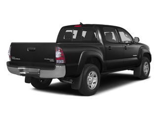Black 2015 Toyota Tacoma Pictures Tacoma PreRunner 2WD I4 photos rear view