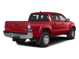 Barcelona Red Metallic 2015 Toyota Tacoma Pictures Tacoma PreRunner 2WD I4 photos rear view