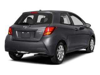 Magnetic Gray Metallic 2015 Toyota Yaris Pictures Yaris Hatchback 3D LE I4 photos rear view