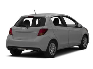 Classic Silver Metallic 2015 Toyota Yaris Pictures Yaris Hatchback 5D SE I4 photos rear view