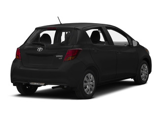 Black Sand Pearl 2015 Toyota Yaris Pictures Yaris Hatchback 5D SE I4 photos rear view