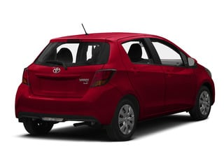 Absolutely Red 2015 Toyota Yaris Pictures Yaris Hatchback 5D SE I4 photos rear view