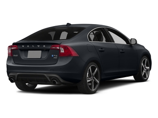Black Sapphire Metallic 2015 Volvo S60 Pictures S60 Sedan 4D T6 Platinum R-Design AWD photos rear view