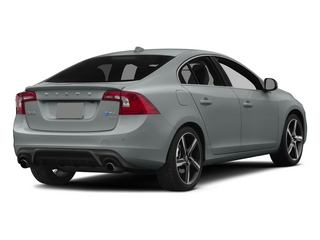 Electric Silver Metallic 2015 Volvo S60 Pictures S60 Sedan 4D T6 Platinum R-Design AWD photos rear view