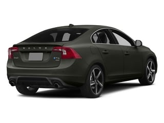 Savile Gray Metallic 2015 Volvo S60 Pictures S60 Sedan 4D T6 Platinum R-Design AWD photos rear view