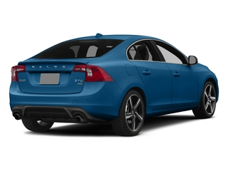 Rebel Blue 2015 Volvo S60 Pictures S60 Sedan 4D T6 Platinum R-Design AWD photos rear view