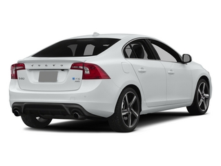 Crystal White Pearl 2015 Volvo S60 Pictures S60 Sedan 4D T6 Platinum R-Design AWD photos rear view