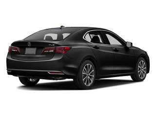 Crystal Black Pearl 2016 Acura TLX Pictures TLX Sedan 4D Technology V6 photos rear view